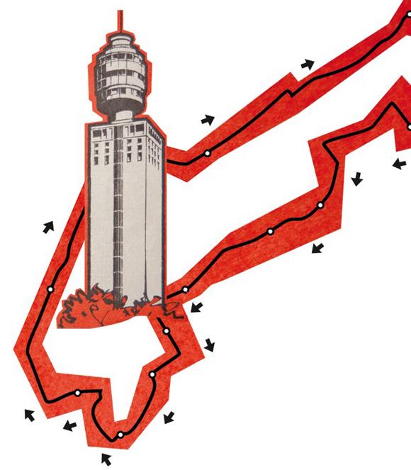 Rund um den Henninger Turm