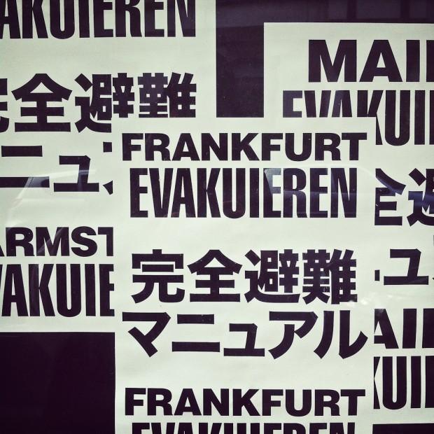Frankfurt evakuieren